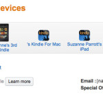 Email Ebooks to your Kindle Devices: Amazon Send to Kindle