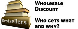 Wholesale Discounts for Booksellers - who gets what and why